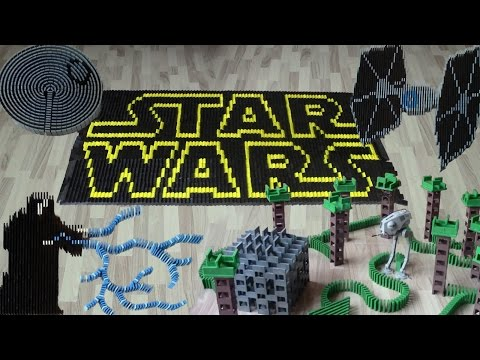 Thumbnail: Star Wars in 50,000 dominoes
