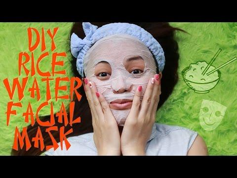 DIY Rice Water Facial Mask