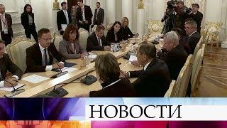 Сотрудничество в энергетике стало одной из главных тем на переговорах министров иностранных дел.