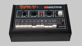 MULTIVOX RHYTHM ACE FR-3 | Vintage Rhythm Box 1979 | HD Demo