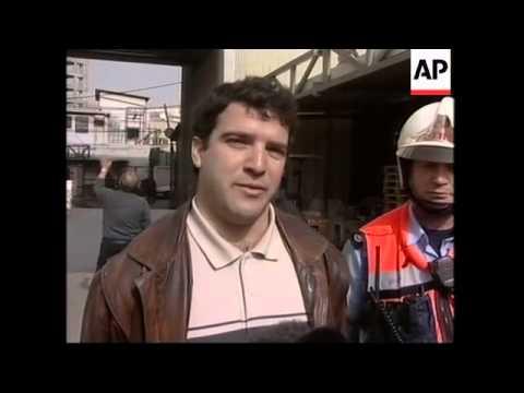 Emergency drill, pro-Iraq protest