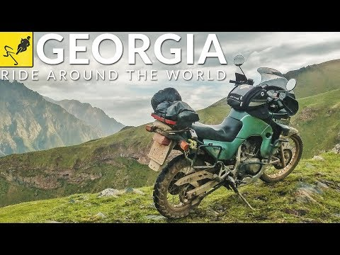 MOTORCYCLE TOURING Around the WORLD, Caucasus - Georgia