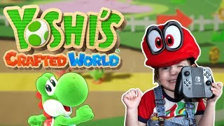 4 Year Old Plays   Yoshi's Crafted World - Nintendo Switch