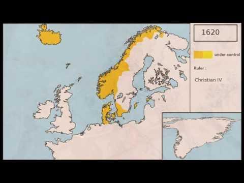 Denmark - Timelapse Map (848-2016)