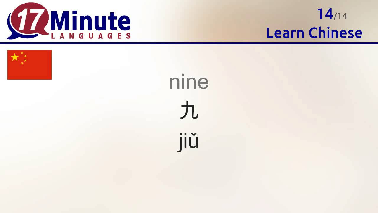 Learn the 30 most important words in Chinese!