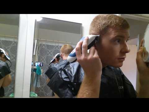 How to cut your own hair - Military regulation fade haircut