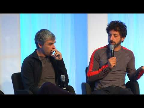 Google Founders Interview - Larry Page and Sergey Brin