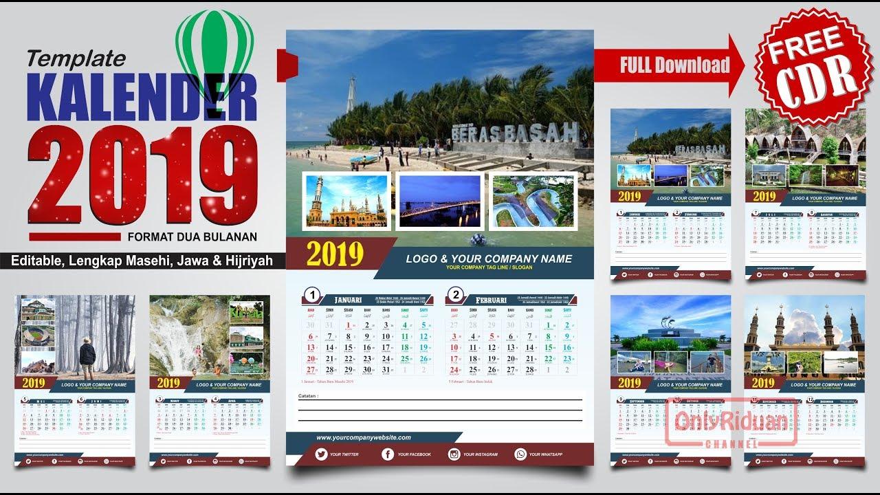 Cara Membuat Desain Kalender Dinding di CorelDRAW ...