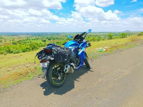 Mumbai To Gargoti (Kolhapur)   Solo Summer Ride   NH4   Gixxer SF