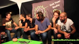 Intervista Lies - Disorder Fest - Giorno 4 22.8.14 - radio booonzo