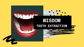 Wisdom Teeth Extraction Recovery