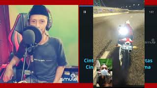 Bukan Cinta Biasa - Siti Nurhaliza (video karaoke duet bareng) smule cover Heri ManVok
