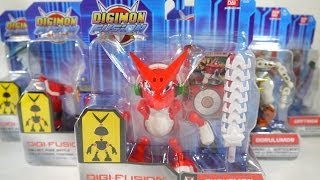 Review: Digi-Fusion Figures Series 1 (Digimon Fusion)