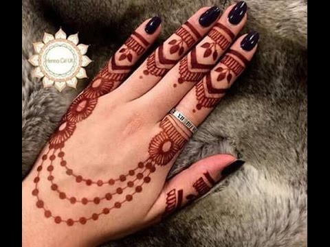 New Designs Mehndi Hands : New mehndi design for hands latest easy