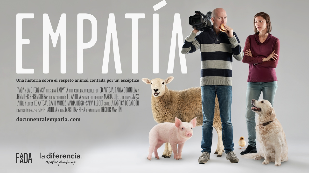 Documental EMPATÍA, No te pierdas ese fabuloso VIDEO sobre respeto animal