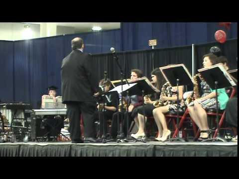 Jazz at the Verdigris High School 2014 Graduation