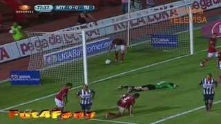 Monterrey vs Tijuana 2-1 Apertura 2013 Jornada 6