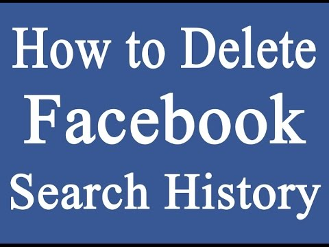How to deleteclearremove facebook search history email address how to deleteclearremove facebook search history email address activity log hindi ccuart Gallery