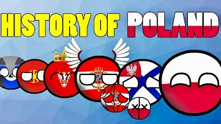WATCH THIS BEFORE YOU GO TO POLAND! NEW HISTORY OF POLAND IN COUNTRYBALLS | Historia Polski | Польши
