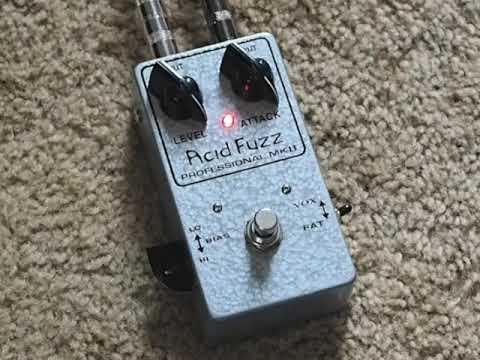 Acid Fuzz Professional MKII Tone Bender