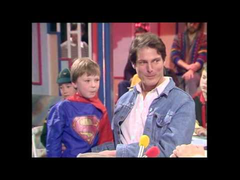 Grant Meets Superman (Christopher Reeve)