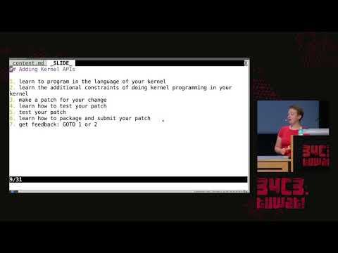 34C3 -  library operating systems