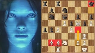 Power of the Bishop Pair | Leela Chess Zero vs Houdini | TCEC CUP2 Finals