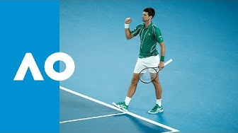 Novak Djokovic best shots   Australian Open 2020