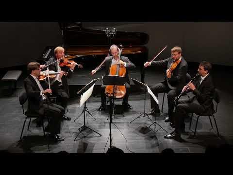The Zemlinsky Quartet plays Mozart's Clarinet Quintet