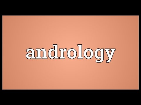 Andrology Meaning