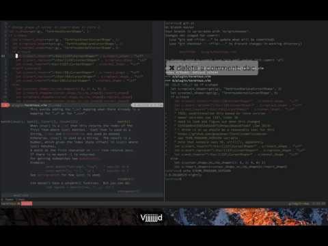 Vim screencast #25: Live coding