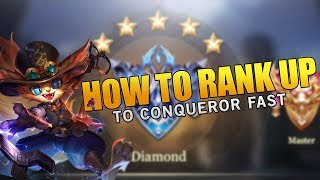 Arena of Valor - How to rank up to Master and Conqueror Fast