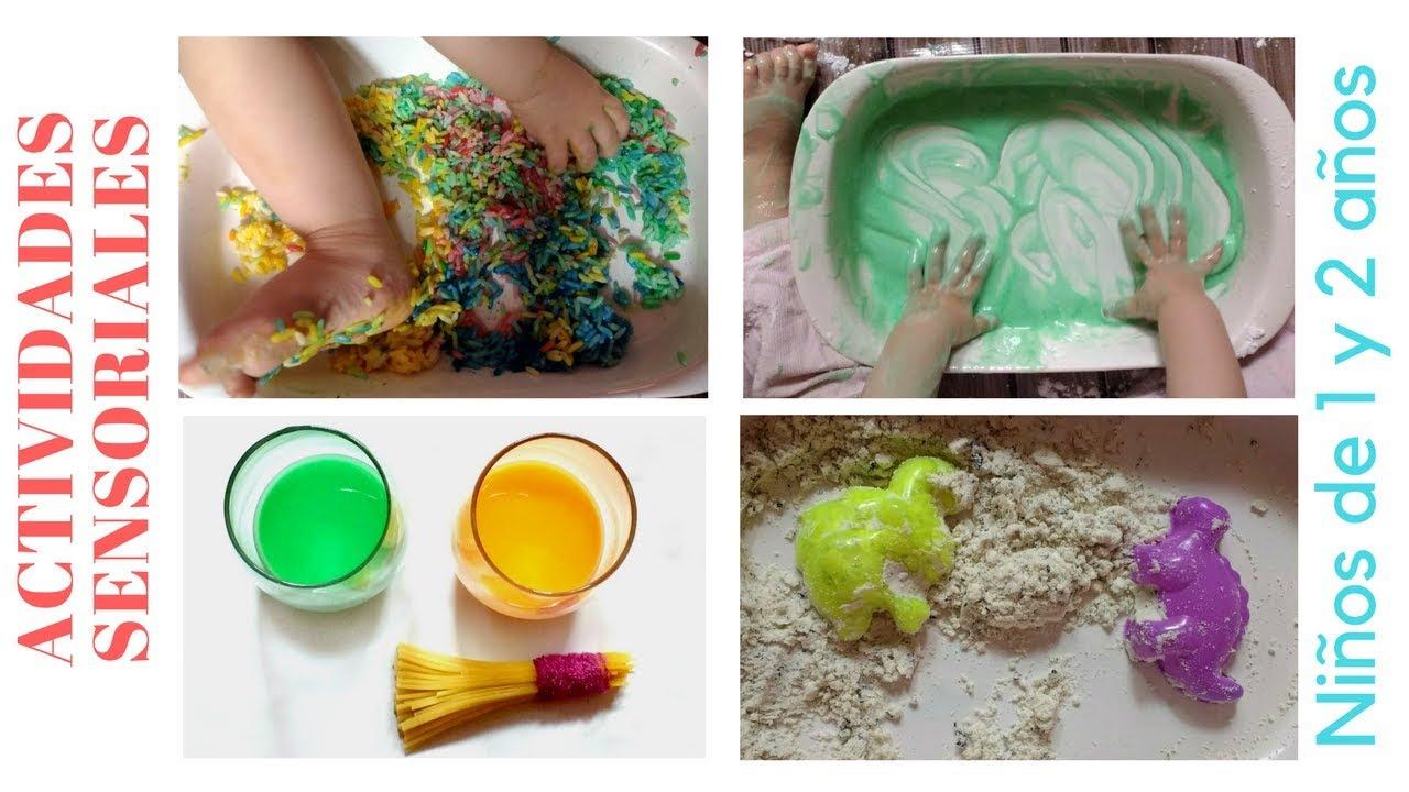 Actvidades sensoriales para ni os 1 y 2 a os youtube for Actividades pedagogicas para ninos de 2 a 3 anos