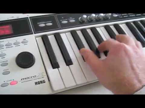 korg micro x plays philip glass cloudscape youtube. Black Bedroom Furniture Sets. Home Design Ideas