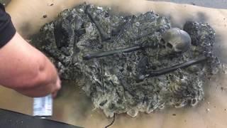 Halloween Prop DIY Burning Body