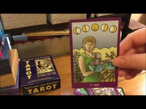 Bright Idea Deck and Light and Shadow Tarot