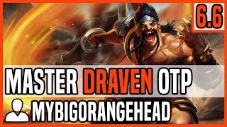 Patch 6.6 Draven ADC OTP - Matchup: Lucian - Ranked Master NA