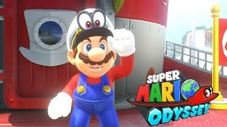 Super Mario Odyssey Part 3 - Sand Kingdom 100% Walkthrough (Nintendo Switch)