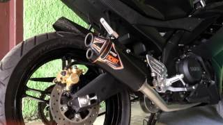 Nobi Titan Full Sistem on Yamaha R15 (Sound Test)