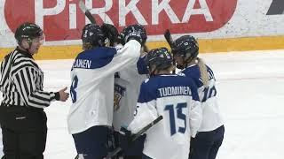 Maalikooste GER-FIN // Naisten Euro Hockey  Tour 14.12.2018 Vierumäki