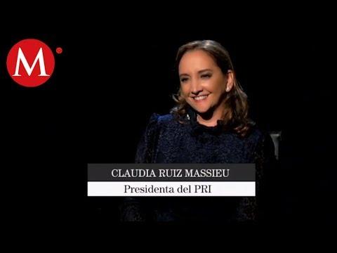 Claudia Ruiz Massieu, Presidenta del PRI | Tragaluz