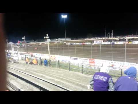 Lee county speedway hobby stock feature 10/09/15