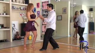 Salsa Lesson by Salomon Rivera Alternating Turns plus Double Head Loops