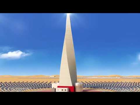 World's Largest Concentrated Solar Power Plant Worth AED14 Billion Was Just Launched In Dubai