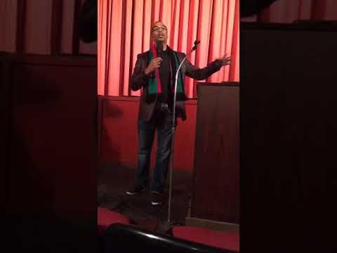 Dr  David M Anderson Sr SPEAKS - Invest The Principle Eat the Interest - NARO Theatre