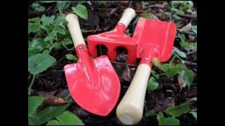 Kids Garden Tool Set - Childrens Garden Tools; Kids Lawn Tools, Kids Gardening Tools