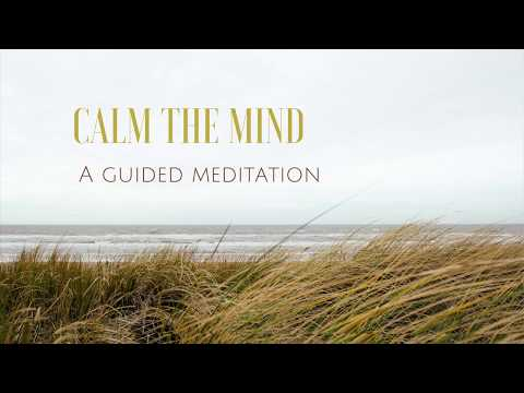 CALM THE MIND a guided meditation for peace and relaxation