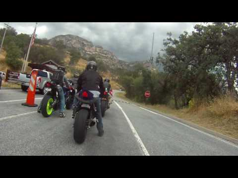 Ride to Sequoia National Park