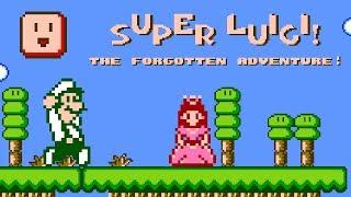 Super Luigi: The Forgotten Adventure • Super Mario Bros. ROM Hack (Longplay/Playthrough)
