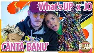 What'S UP si JO canta BANU' #DimineataBlana